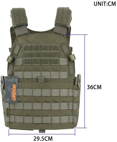 EXCELLENT ELITE SPANKER Plate Carrier Nylon JPC Tactical Vest RGN