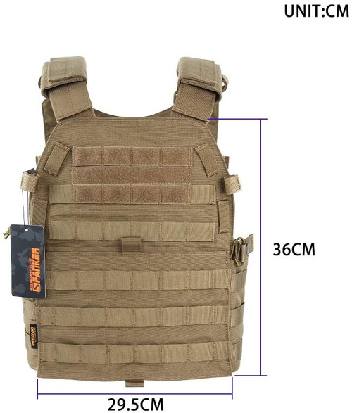 EXCELLENT ELITE SPANKER Plate Carrier Nylon JPC Tactical Vest COB