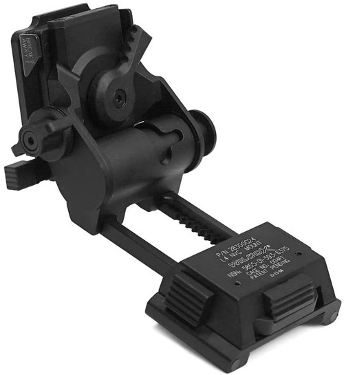 Evolution Gear WILCOX Type L4 G24 NVG Mount Black