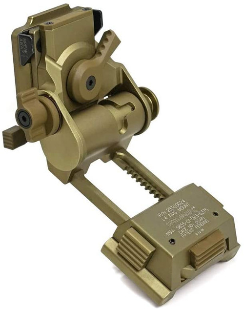 Evolution Gear WILCOX type L4 G24 NVG mount TAN