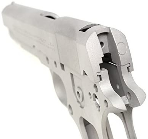 GUARDER 1911 National Match Aluminum Slide & Frame Silver