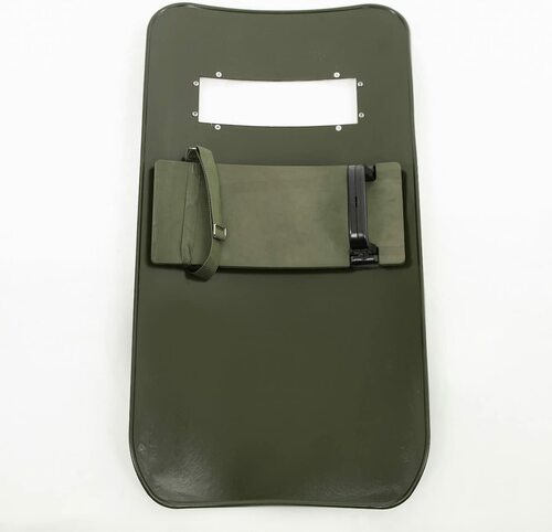 Catsobat long shield multi-grip specification shield police special forces event item green camouflage