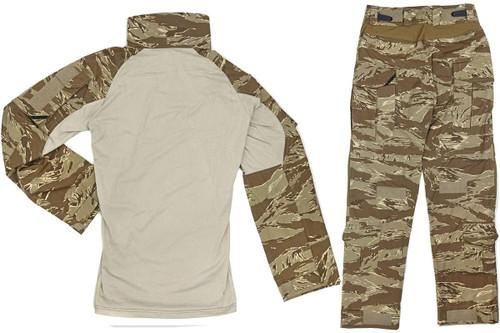 FFI Crye Precision Type G3 Combat Set Desert Tiger Stripe Women US-XS