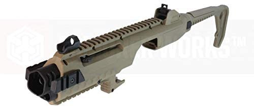 ARMORER WORKS Glock carbine conversion kit TAN *Airsoft gun is not included.