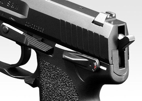 Back left of Tokyo Marui H & K USP Airsoft Electric Handgun