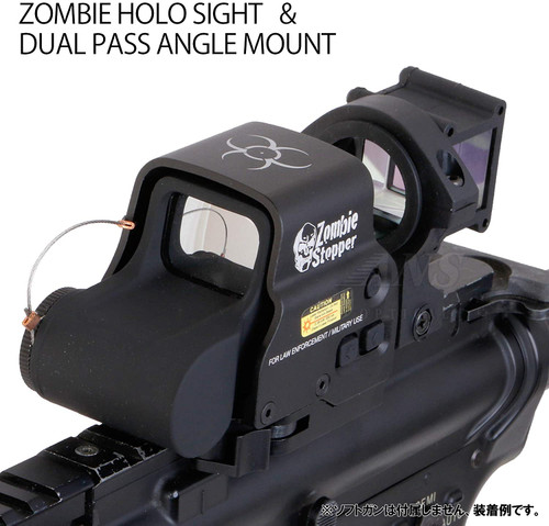 ANS Optical set of Eo HD558 ZONBIE STOPPER Type Holosight & Dual Path Mount
