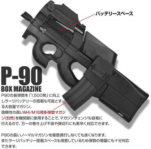 LayLax F.FACTORY P90 BOX Magazine Airsoft Accessories