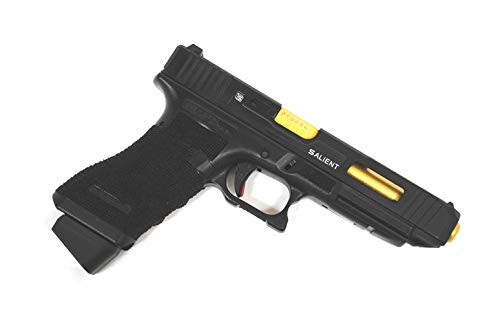 Muzzle right of BELL G 34 Glock SAI Custom Deluxe Edition No. 776 Gas blow back Airsoft Gun