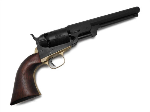 CAW Colt M1851 51 Navy 4th Heavy Weight Ignition Model Gun Brass Trigger Guard With Wooden Grip