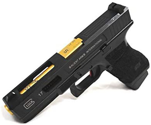 DOUBLE BELL G17 SAI Custom Deluxe Co2 Version Blowback Airsoft Gas Gun ABS Resin Frame No.873