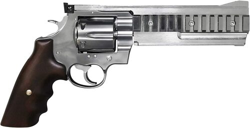 Marushin Colt Constrictor Mk2 Silver ABS X Cartridge Gas Revolver Airsoft gun
