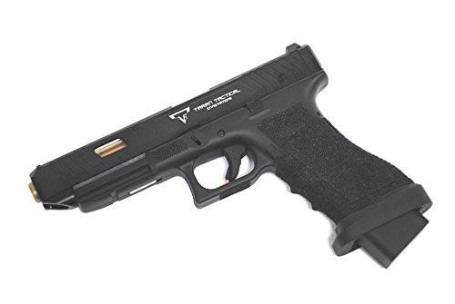 Muzzle left of BELL TTI type Glock G34 John Wick 2 Combat Master Custom Metal Slide Gas blow back Airsoft Gun