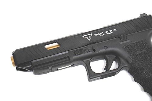 Muzzle of BELL TTI type Glock G34 John Wick 2 Combat Master Custom Metal Slide Gas blow back Airsoft Gun
