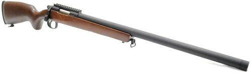 DOUBLE BELL VSR Air Cocking Bolt Action Sniper Rifle M40 Wide Type Real Wood Stock