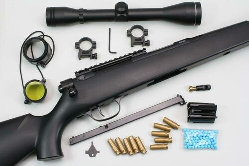 Crown Model Super Rifle 3 U10 Junior Scope Type Airsoft Gun