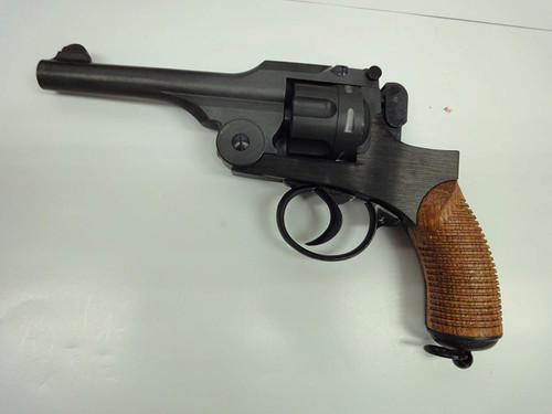 Hartford Type 26 Revolver Normal Model Wooden Grip Heavyweight Ignition Model Gun Finished Product