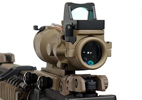 Trijicon ACOG TA31 ECOS Reticle light emitting model 4x fixed rifle scope US military equipment