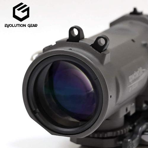 EVOLUTION GEAR ELCAN SPECTER DR SU-230 Rifle Scope Replica 1x / 4x Switchable Reticle Luminous (FDE)