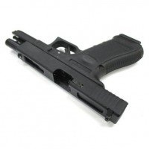 Side of Muzzle left of We-Tech Glock 18C Gen 4 ( Metal slide standard equipment) Airsoft Gun