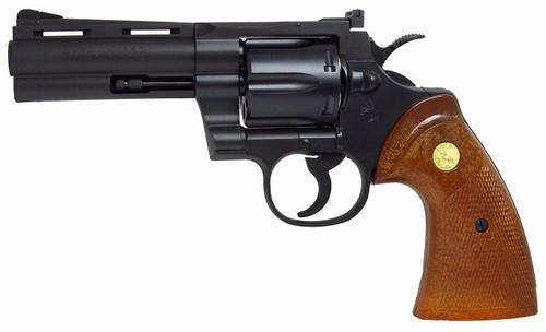 Muzzle left of Tanaka Colt Python 4 inch R - MODEL HW Gas revolver Airsoft Gun