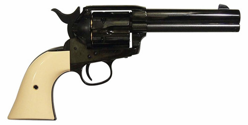 Muzzle right of Marushin Colt S.A.A. 45 Peacemaker W Deep black ABS X cartridge (with fixed hop and new valve) Gas revolver Airsoft Gun