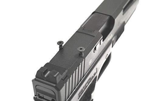 Top of BELL G 17 L Glock ZEV II 9MM Custom Slide RMR No. 762 - 5 GBB Airsoft Gun