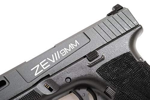 Left side of BELL G17L Glock ZEVII 9MM Custom Slide No. 762 GBB Airsoft Gun