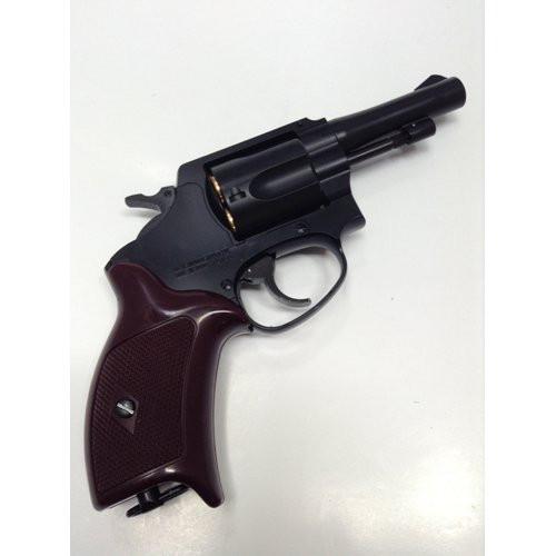 Muzzle right of Marushin Police revolver 3 inch X cart specification HW black 6mm Gas revolver Airsoft Gun