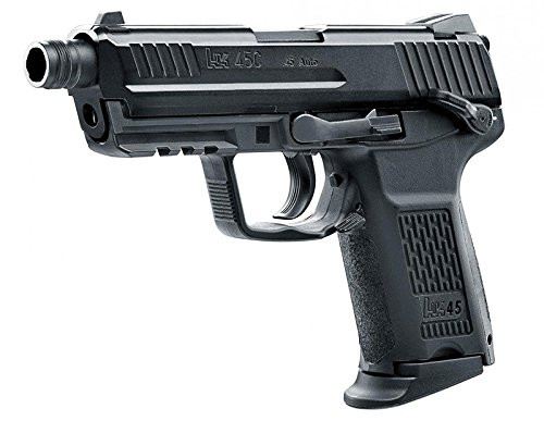 Entire image of UMAREX HK 45 JP version BK Compact Tactical GBB Airsoft Gun