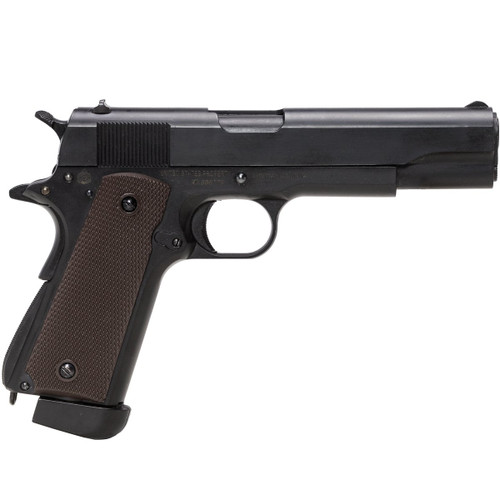Muzzle right of DOUBLE BELL M1911A1 COLT GOVERNMENT CO2 GBB Airsoft Gun