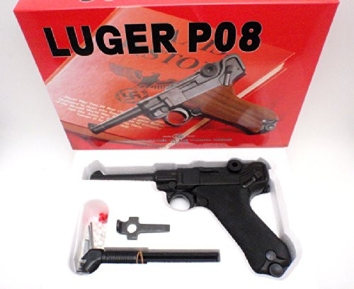 In the box of Tanaka German army Luger P08 HW GBB Airsoft gun