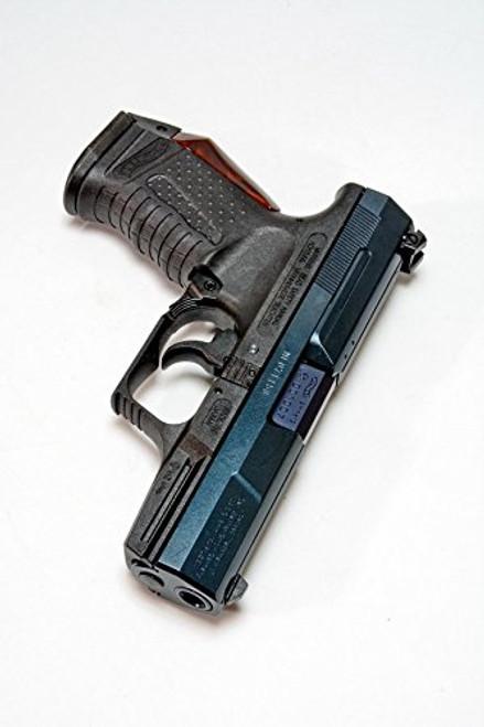 Right side of Maruzen P99 Metal Blue Finish Airsoft Gun【Carom Shot Custom】