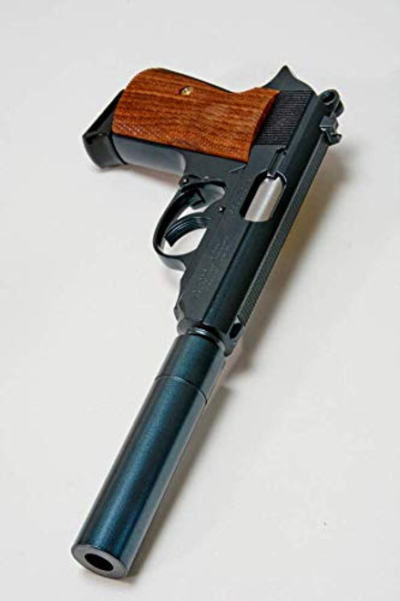 Right side of Maruzen PPK / S molybdenum blue Airsoft Gun 【Carom Shot Custom】
