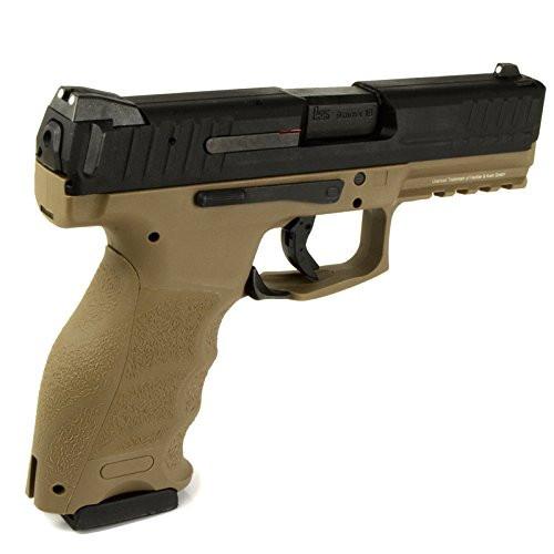 Muzzle right of UMAREX VP9 standard TAN color GBB Airsoft Gun