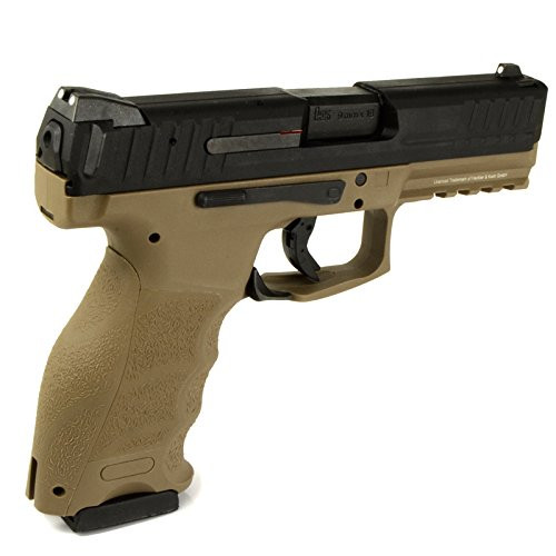 Muzzle right of UMAREX VP9 standard TAN color GBB Airsoft Gun