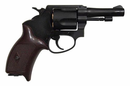 Muzzle right of Marushin Black ABS Copper Head Cart Police 3 inch Gas Revolver Airsoft Gun