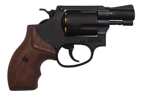 Muzzle right of Marushin M36 Chief Special 2 inch W Deep Black Wooden Grip Copper Head Cart Gas revolver Airsoft Gun