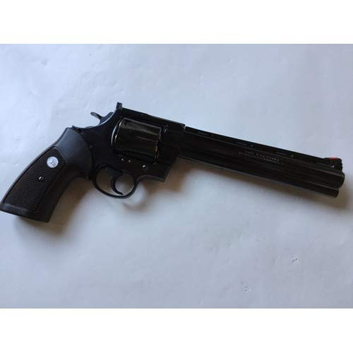 Muzzle right of Marushin Colt Anaconda 8 inch Deep Black Real X Cart Specification Gas revolver Airsoft Gun
