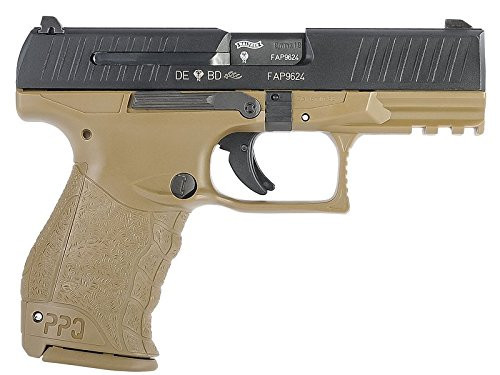 Muzzle right of Walther / StarkArms PPQ M2 Tan GBB Airsoft gun