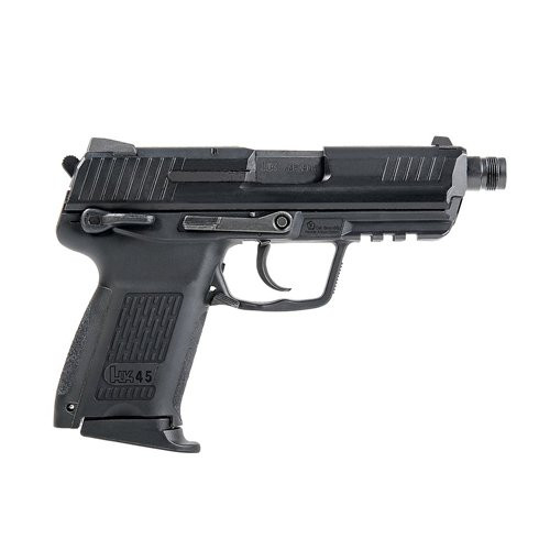 Muzzle right of UMAREX HK45 Compact Tactical Asia STD Black GBB Airsoft gun