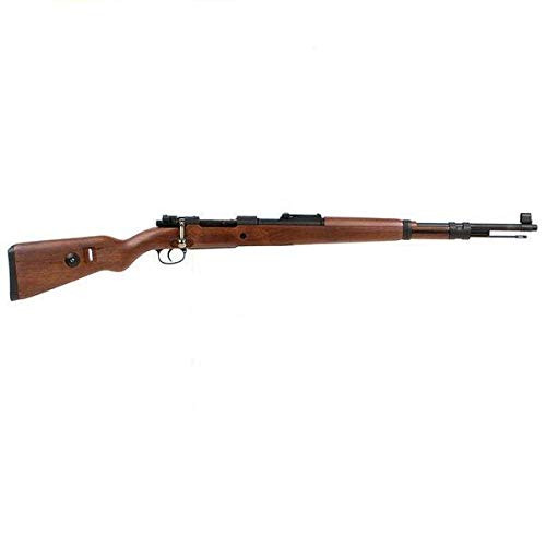Muzzle right of DOUBLE BELL Kar98k air-cocking Airsoft rifle gun with 5 bullets