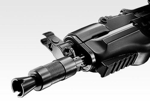 Muzzle of Tokyo Marui AK47 β Spetsnaz standard Airsoft electric rifle gun (