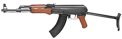 Muzzle left of Tokyo Marui AK47 folding stock standard Airsoft electric rifle gun