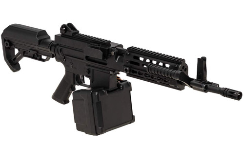 Right side of Golden Eagle FightLite 12.5 inch MCR GE6671 Airsoft electric sub machine gun