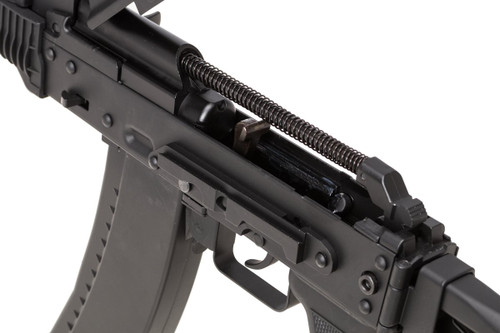 Left side of WELL AKS74U CO2 GBB Airsoft rifle gun