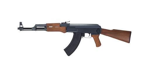 Muzzle left of CYMA AK47 WOOD type CM028 Airsoft electric rifle gun