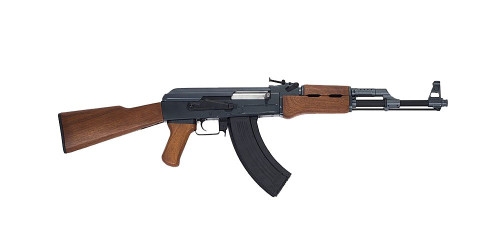 Muzzle right of CYMA AK47 WOOD type CM028 Airsoft electric rifle gun