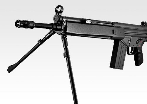 Left side of Tokyo marui H&K G3 SG1 sniper model standard Airsoft electric rifle gun