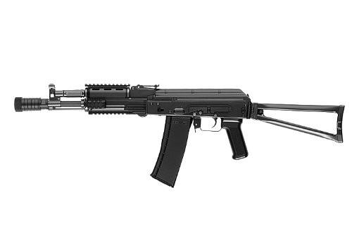 Muzzle left of Tokyo Marui  AK102 next generation Airsoft electric rifle gun