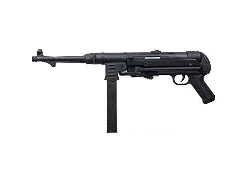 Muzzle left of AGM MP40 black Airsoft Electric rifle gun